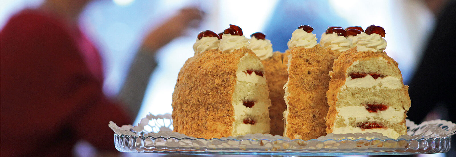 """The """"Gothaer Kranz"""" crown cake © KulTourStadt"""