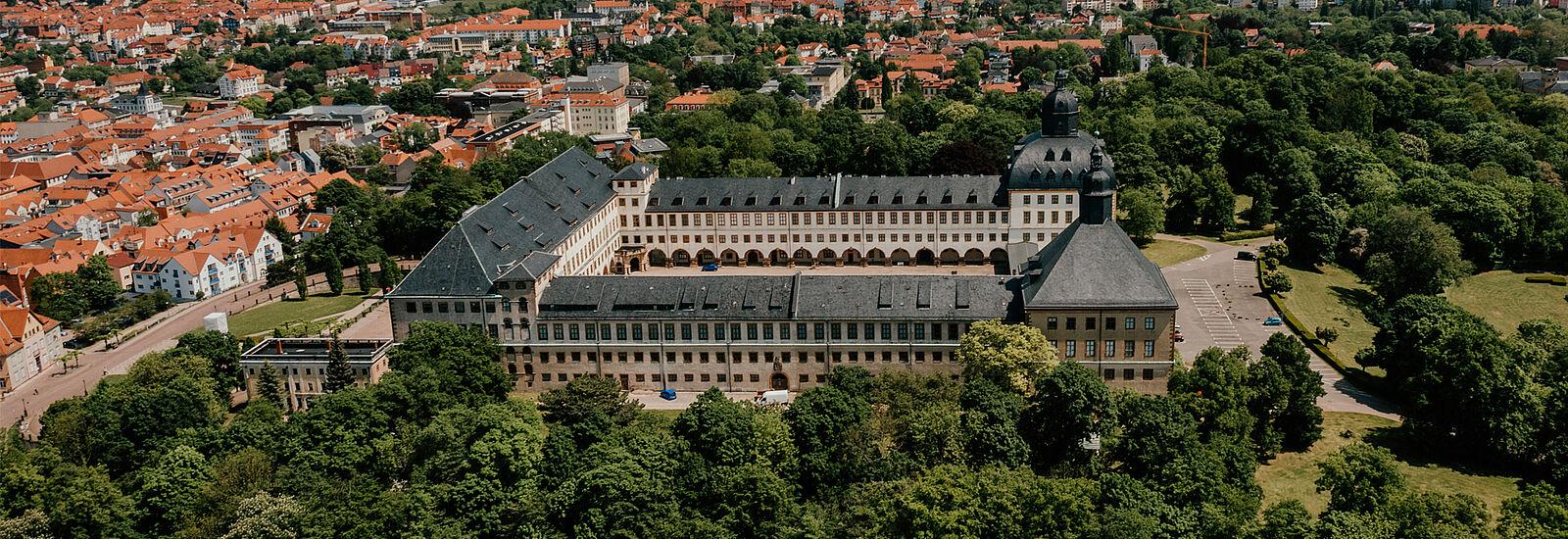 Schloss Friedenstein Gotha ©Aerophoto