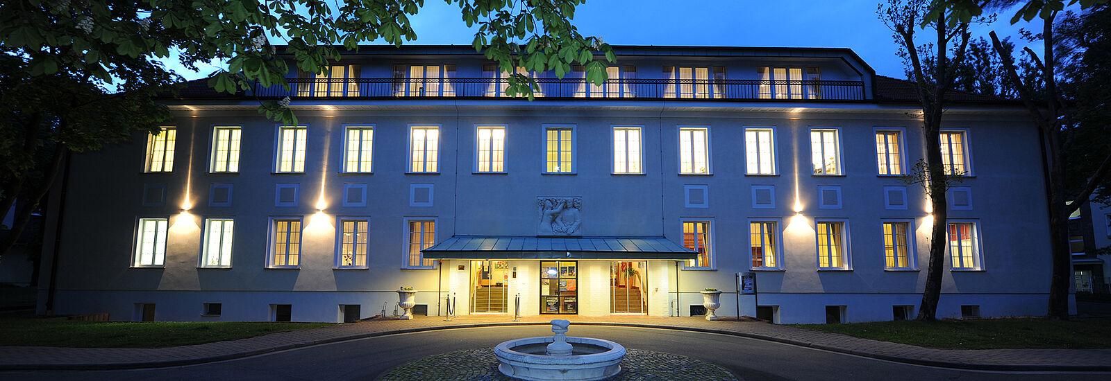 Aussenansicht Hotel der Lindenhof Gotha