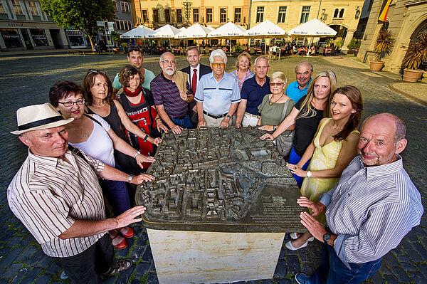 Gästeführer/innen der Residenzstadt Gotha ©J. Schöter