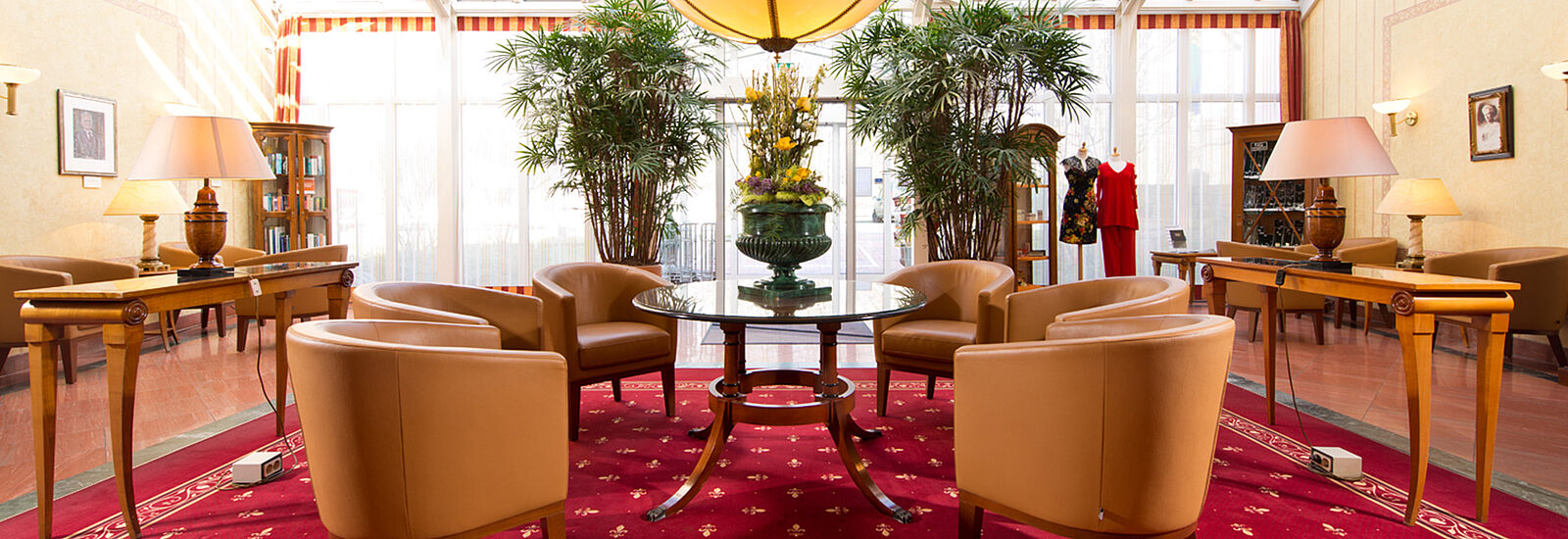 Lobby_Hotel am Schlosspark