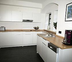 Ferienwohnung Arnoldiblick Küche