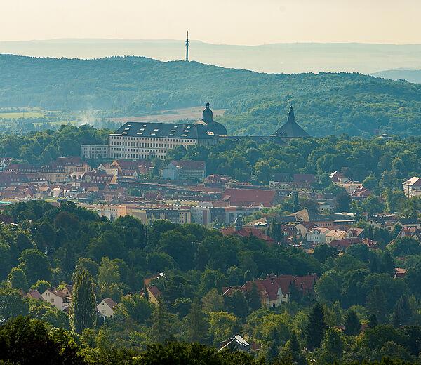 Blick auf Gotha ©J. Schröter
