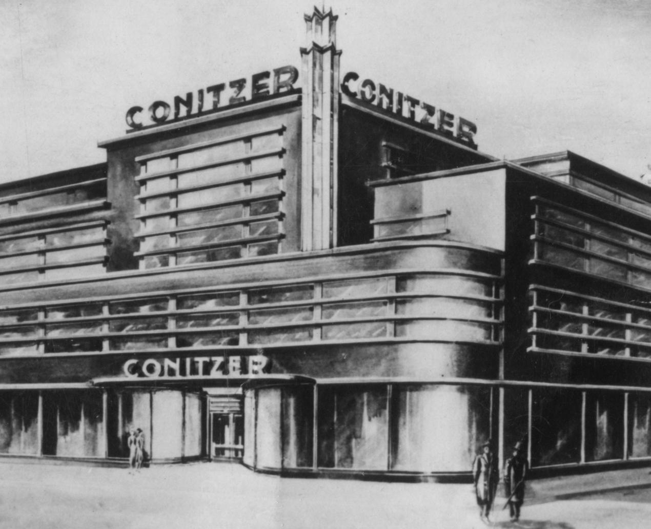 Conitzer-Kaufhaus 1928-29 ©Archiv Klaus Blechschmidt