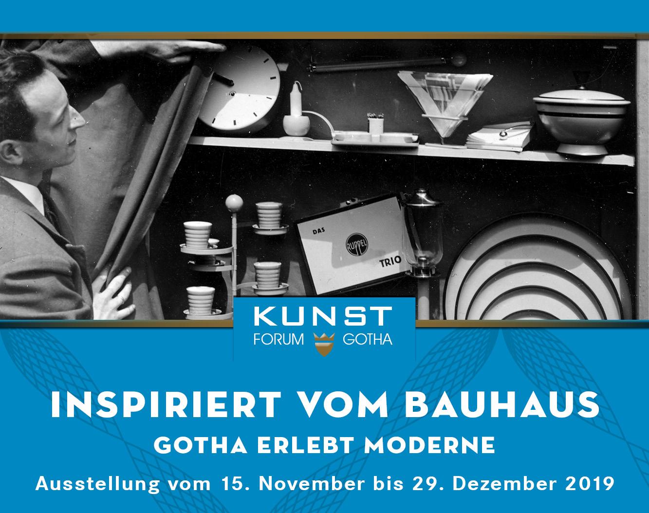 Ausstellung: Inspriert vom Bauhaus