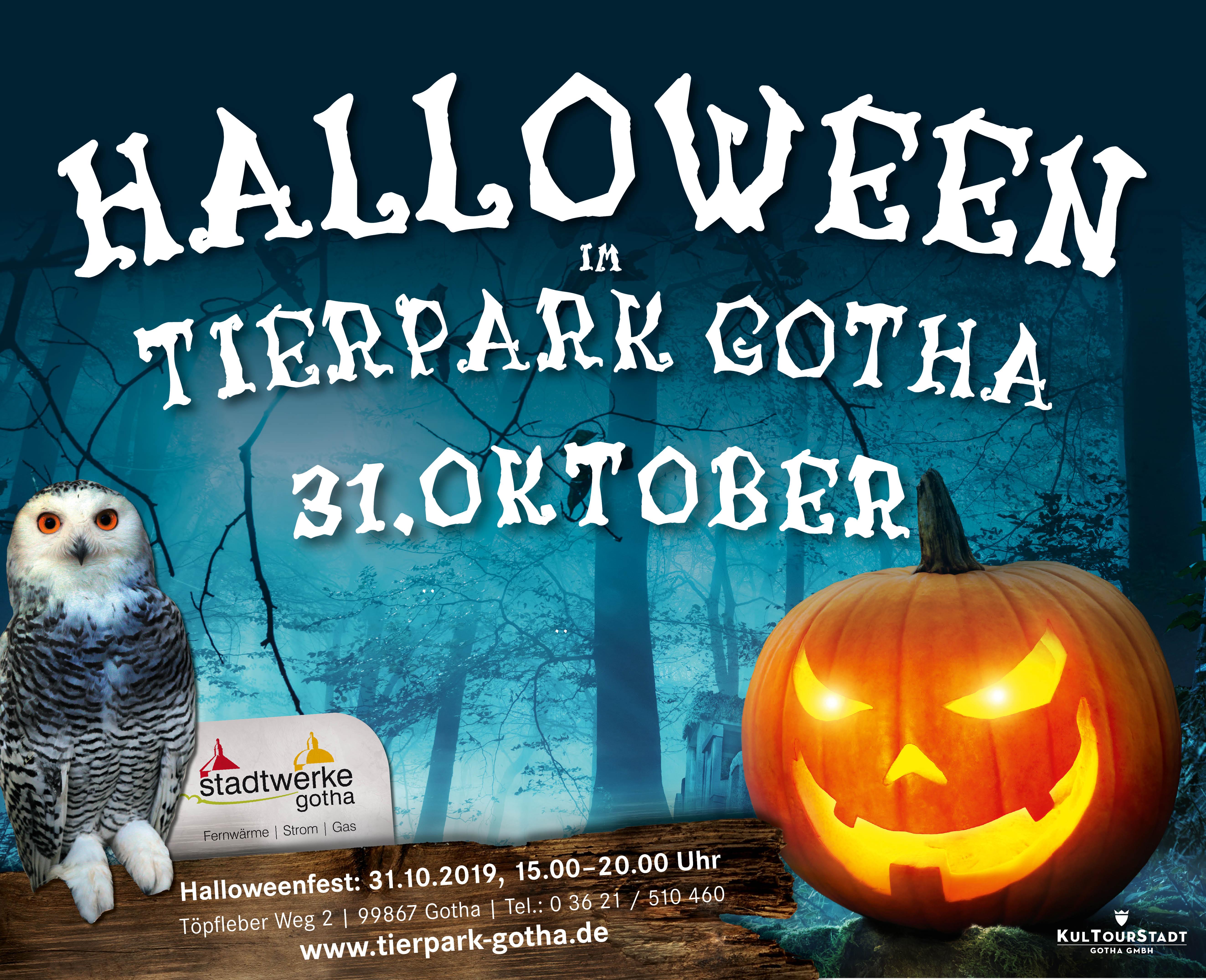 Halloweenfest im Tierpark Gotha