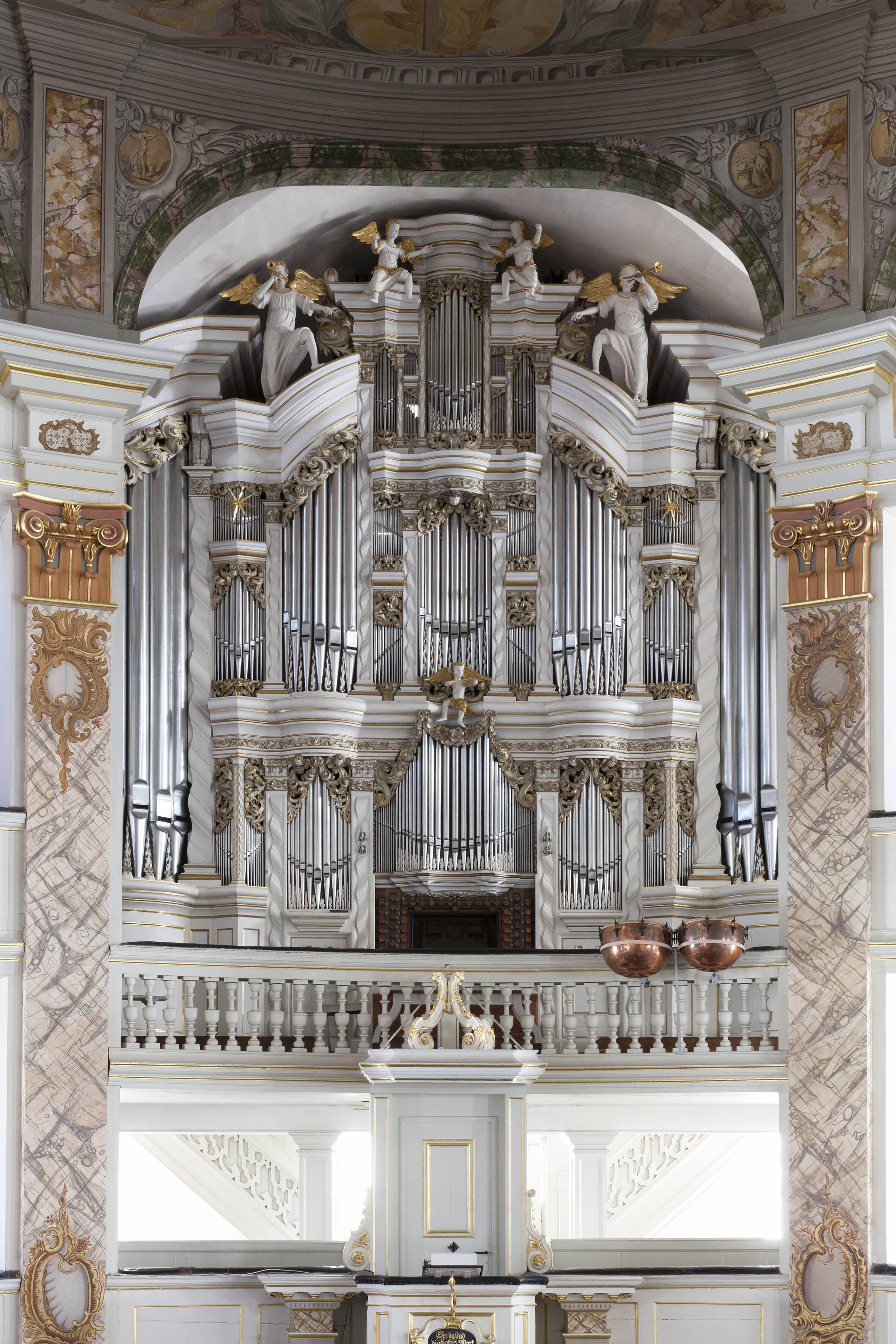 Kirche Trost-Orgel (c)Constantin Beyer