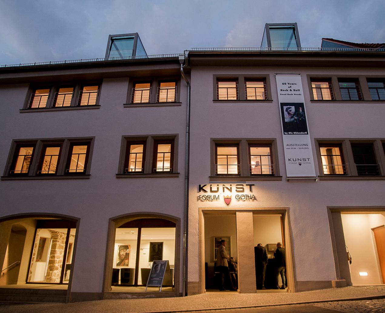 KunstForum Gotha ©Archiv KulTourStadt Gotha GmbH