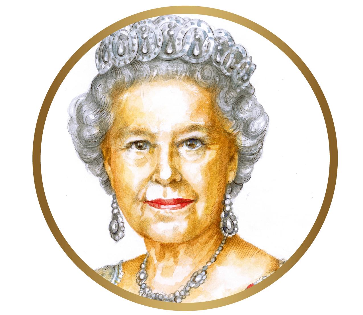 Queen Elizabeth II. ©DMZ/Natali Schmidt