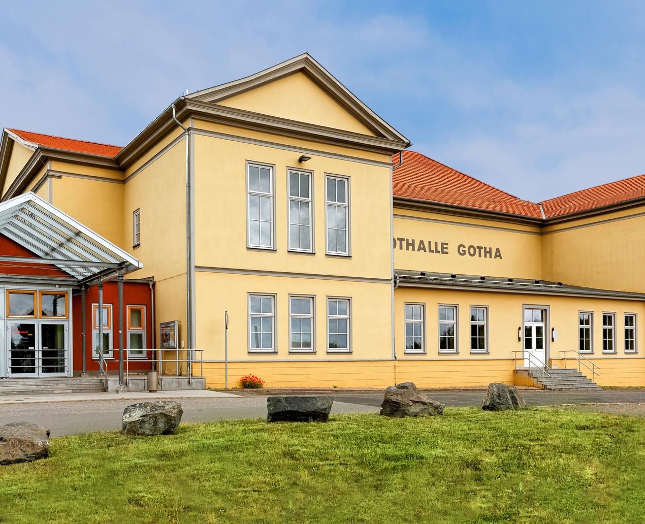 Stadthalle Gotha ©Bernd Seydel