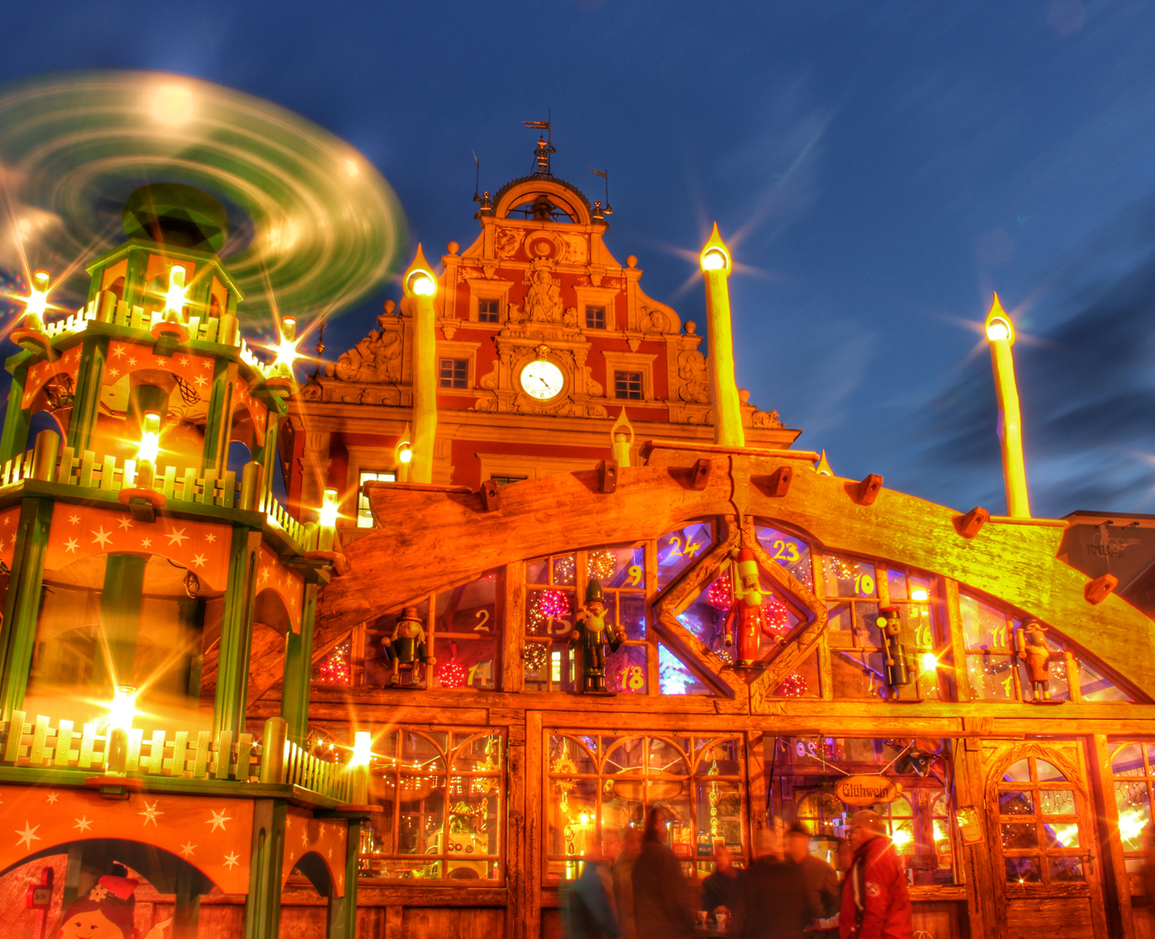 Weihnachtsmarkt Gotha ©S. Pohl