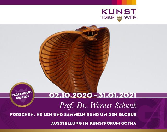 Ausstellung Prof. Dr. Werner Schunk