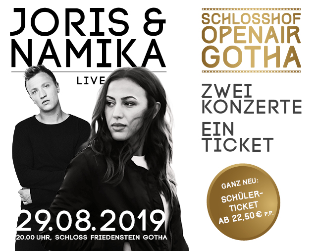 Joris & Namika im Schlosshof Open Air
