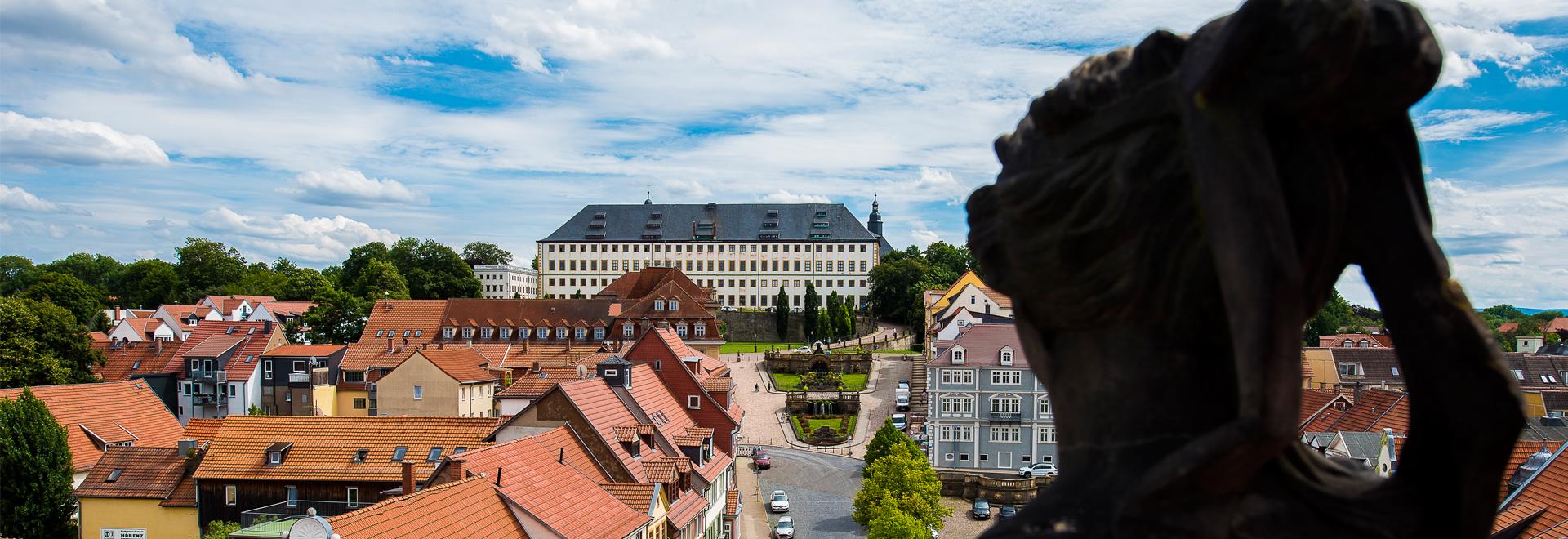 Blick auf Schloss Friedenstein Gotha ©J.Schröter
