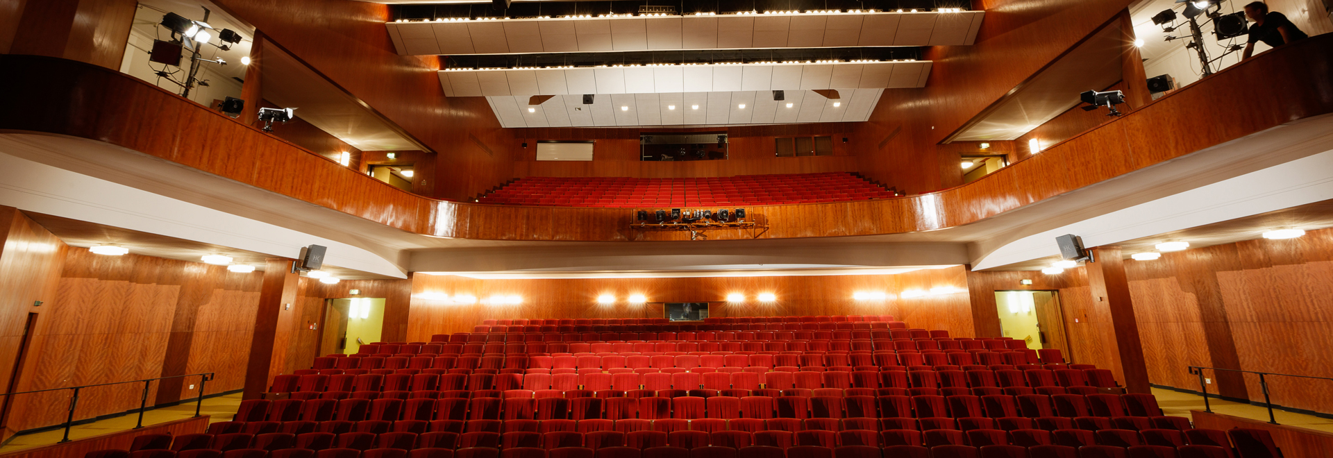 Kulturhaus Gotha Saal ©Bernd Seydel