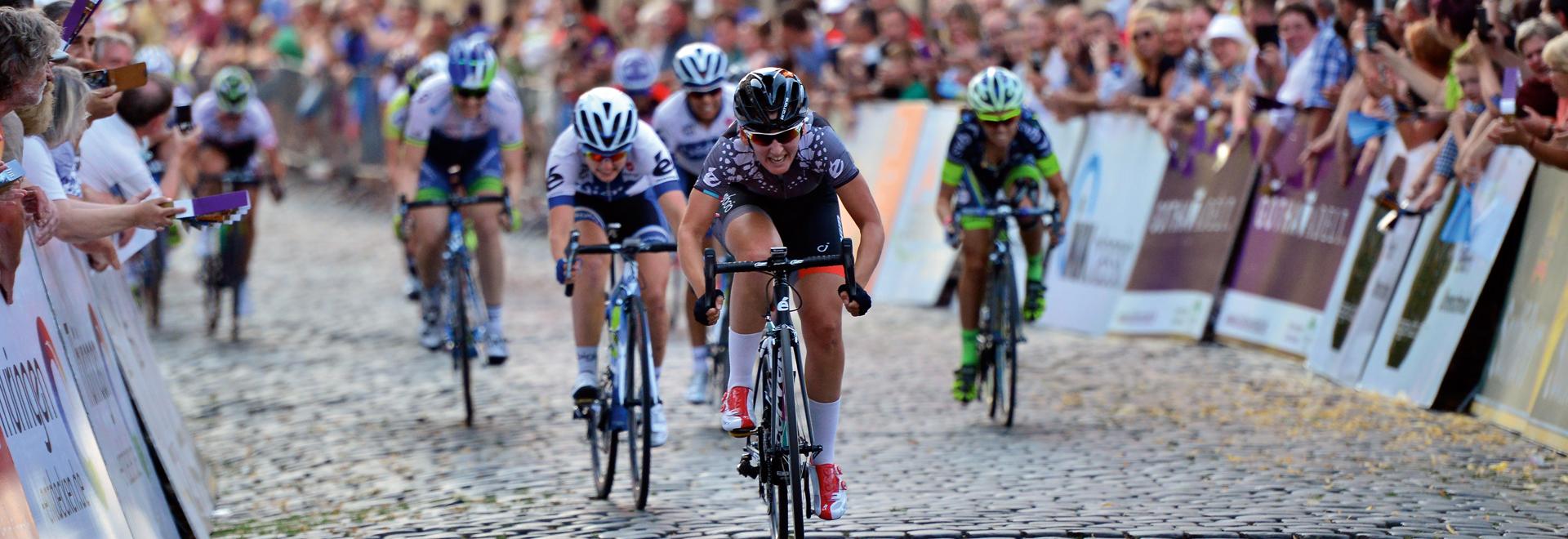 LOTTO Thüringen Ladies Tour ©Stadtverwaltung Gotha
