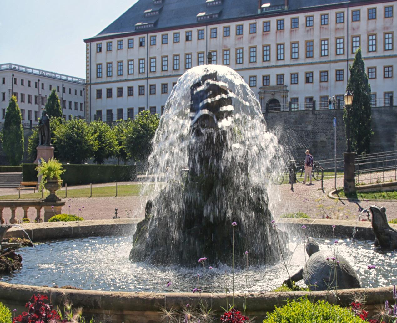 """Rundgang """"Schiller verliebt und Goethe gelehrsam in Gotha"""" © Thomas Mallin"""